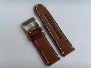 Diesel Original Spare Band Leather Wrist DZ4443 Watch Braun Strap 26 MM
