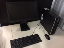 Desktop Set (Everything  monitor, HP desktop, Keyboard & mouse and all cords)