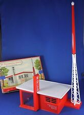 Plasticville - #1618-100 TV Transmitting Station - Outstanding Boxed Piece
