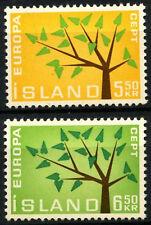 Iceland 1962 SG#395-6 Europa MH Set #D56274