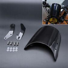 "Universal Motorcycle Windshield for 5"" 7"" Headlight Yamaha Honda Kawasak Suzuki"