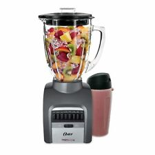 Oster Smash Blend 300 Blender w/ Travel Smoothie Cup 14 Speed Home