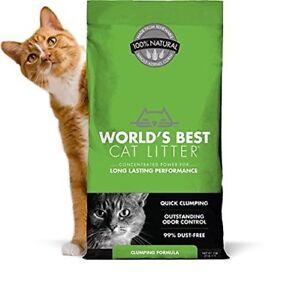 World's Best Cat Litter Clumping Litter Formula 28-Pounds