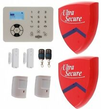 KP9 Bells Only Pet Friendly Wireless Alarm Kit F with 2 x Dummy Alarm Boxes