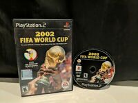 2002 FIFA World Cup (Sony PlayStation 2 PS2, 2002) No Manual