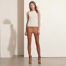 LAUREN RALPH LAUREN STRETCH LEATHER SKINNY PANTS******SIZE: 10