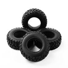 4Pcs 1:10 RC Short Course Truck Rubber Tires For TRAXXAS SLASH HSP HPI Racing
