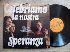 Celebriamo La Nostra Speranza Label: Edizioni Paoline - LP