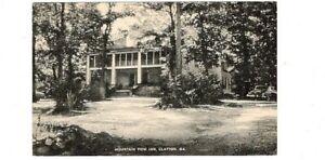 1954 Postcard. Mountain View Inn, Clayton, Georgia