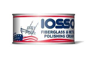FIBERGLASS & METAL CREMA POLISH IOSSO 250 ML MADE IN USA