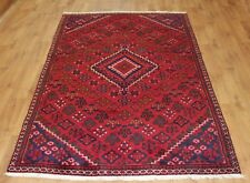 Persian Traditional Vintage Wool 260X145cm Oriental Handmade Carpet Rugs-1713