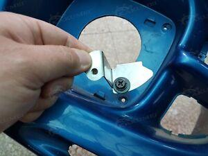 STI Style stainless Fog Lamp Cover Brackets for Subaru Impreza GC8 GF8 2.5 99-01