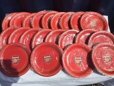 NEW ARSENAL FOOTBALL CLUB PARTY PLATES 144 PACKS OF 8 PLATES