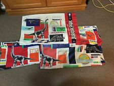 Jurassic Park - Bedding - Twin Set - Fitted & Flat Sheet & Pillow Case - Vintage