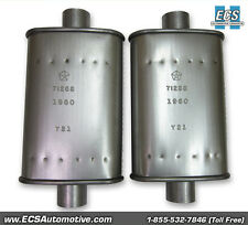 "NOS Quality ""FACTORY EXACT"" Date-Coded E-Body Resonators (pair.) - 1971 Vehicles"