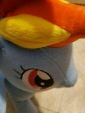 "13"" My Little Pony Rainbow Dash Storyteller Talking Singing Plush Used 2012"