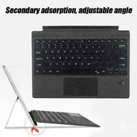 Wireless Bluetooth Keyboard Magnetic Charging For Microsoft Surface pro3/4/5 BD
