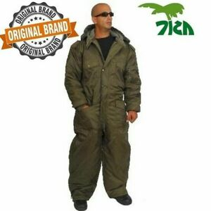 Coverall IDF Hermonit Snowsuit Ski Snow Suit Men's Cold Winter Clothing - Green