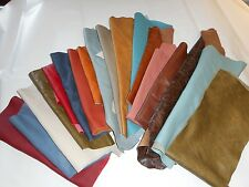2KG(approx) ITALIAN QUALITY CONTRACT LEATHER OFFCUTS/SCRAPS-FIRE RETARDANT