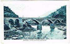 swAK Italien / Slowenien Görz Gorizia Ponte Isonzo  Viadukt Eisenbahn um 1930