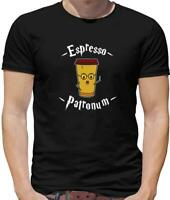 Espresso Patronum Mens T-Shirt - Potter - Film - Book - Coffee - Spell - Magic