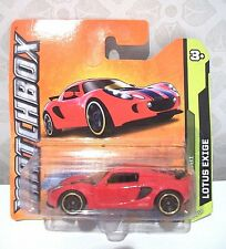 MATCHBOX GOBI red Lotus Exige car 5/10 NEW - sports car