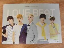 M-BLAQ - LOVE BEAT [ORIGINAL POSTER] *NEW* K-POP MBLAQ