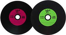 Vinyl CD-R Carbon,10 Stück ,700 MB zum archivieren, Dye schwarz Grün/Lila