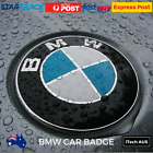 BMW Boot Bonnet Trunk Hood Replacement Badge 82mm Chrome Badge Emblem Logo