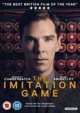 The Imitation Game DVD 2015 - Benedict Cumberbatch 50p