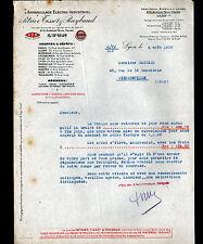 "LYON (69) APPAREILLAGE ELECTRO-INDUSTRIEL ""PETRIER , TISSOT & RAYBAUD"" 1930"