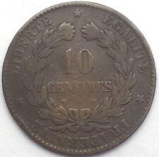 Ceres 10 centimes 1874 A bronze #1275