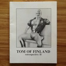 Tom of Finland Book Full Page Male Erotic Photos Drawings Uniforms Leather SC