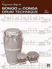 NEW Progressive Steps to Bongo and Conga Drum Technique by Ted Reed
