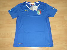 Authentic Puma Italia Italy Italian National Soccer Futbol Jersey Women's Large