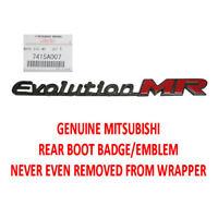 Evolution MR Rear Boot Badge/Emblem 7415A007 Mitsubishi Lancer EVO 7 8 9 MR CT9A