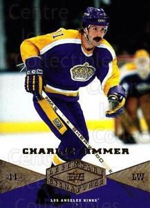 2004-05 UD Legendary Signatures #17 Charlie Simmer