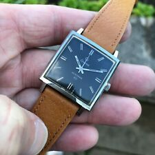Unusual vintage 1960's swiss made Certina 5201 Clamshell case manual wind watch