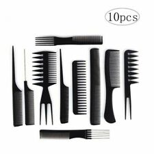 Salon Hair Comb Set Hairdressing Stylists Barbers Combs Tool YWL 10 combs