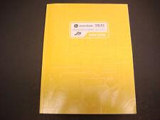John Deere D-series Skid Steer & Compact Track Loader Sales Training Guide w/Cd