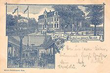 Vorläufer Mockethal bei Pirna Gasthof zum grauen Storch 1904