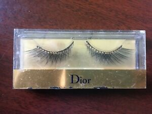 Dior Grand Bal False Lashes with Gold Crystals (see details)
