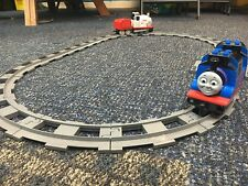 LEGO used BULK Duplo Train parts (large track, includes 2 trains, D104)
