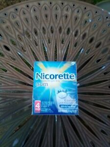 Nicorette 4 mg Coated White Ice Mint Gum - 160 Count