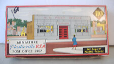 Bachmann Bros.~Plasticville Ho Scale~Post Office 2407-79~With Box