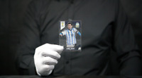 Panini PRIZM FIFA World Cup Brazil 2014 Base #12 LIONEL MESSI - 'The Masked Man'