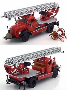 1/43 MINICHAMPS Mercedes-Benz l3500 dl17 1950 Truck Firefighters Bensheim New
