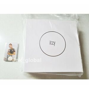 ITZY Official MD Light Ring Case + Limited PhotoCard SET 5ea 1Set + Track