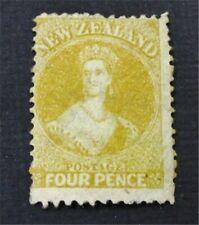 nystamps British New Zealand Stamp # 35 Mint OG H $350