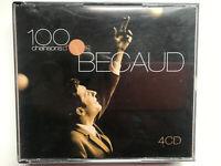 BECAUD GILBERT  4 x CD 100 CHANSONS D'OR THE BEST RECOPLICACION